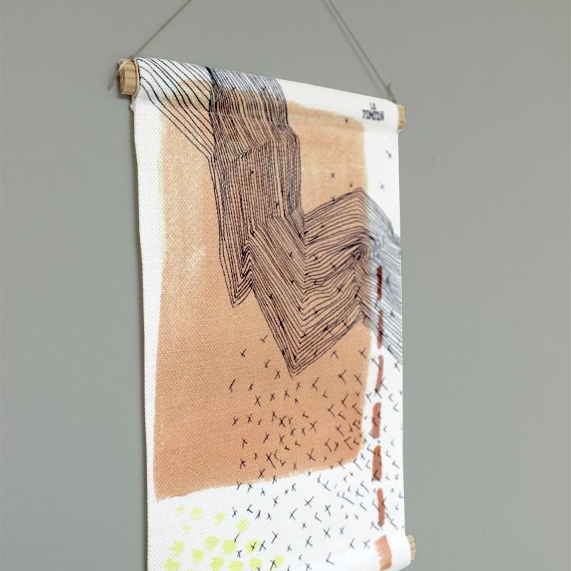 copy of Fabric illustration...