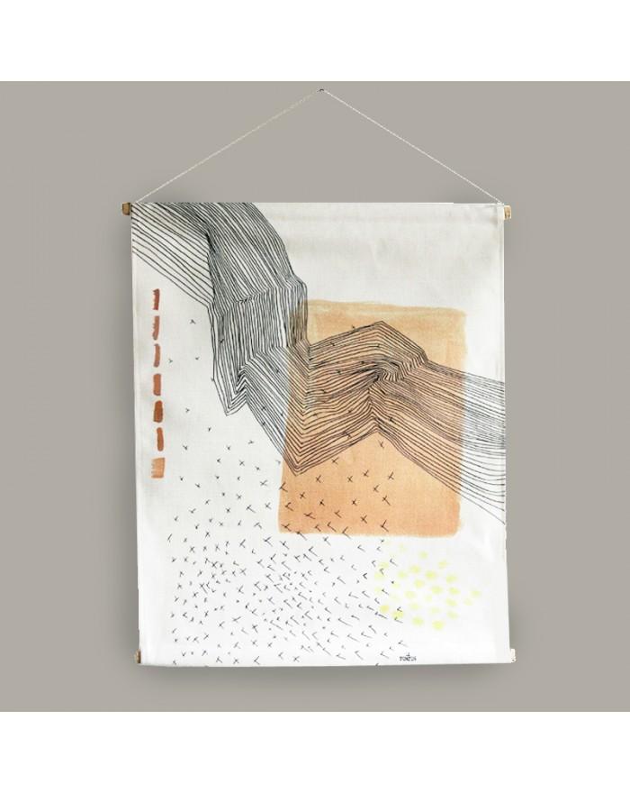 "Fabric illustration ""Strate"""