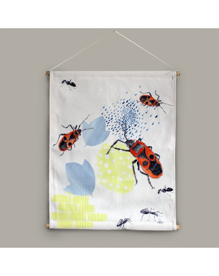 "Textile poster ""Gendarme"""