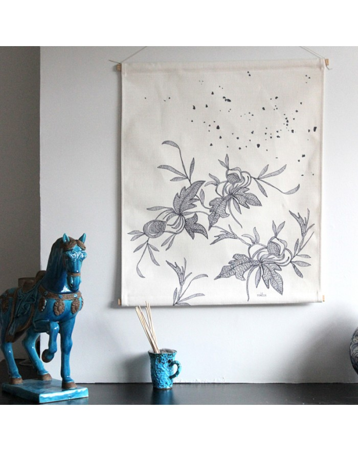 "Fabric illustration ""Point..."