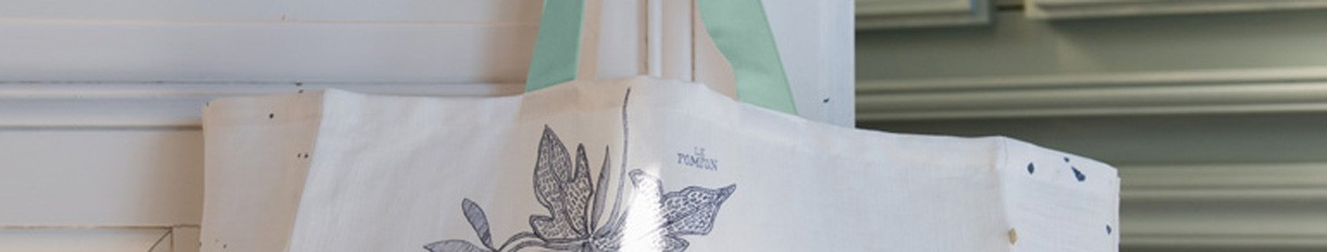 Sac de course en tissu | Le Pompon | Fabriqué en France